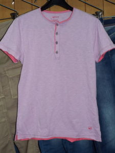 T-SHIRTS M/C Style No.542718 Material No.182301 STYLE NAME.BRISK/S SER. JERSEY FLAME Color.3732 SOFT LILLAC