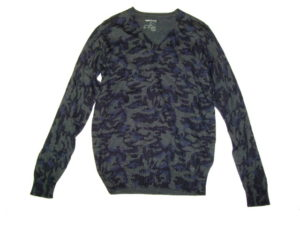GAS Thema.WI03 Item.KNITWEAR Style No.561762 Material No.431752 STYLE NAME.JEAN PIER V/S Color.0194 NAVY BLUE