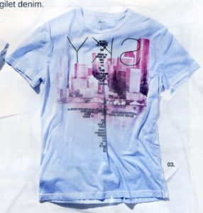 GAS T-SHIRTS 79210 T-shirt Scuba/R Sky 18 2037 Jersey As Cold Dye 1771 Light Blue