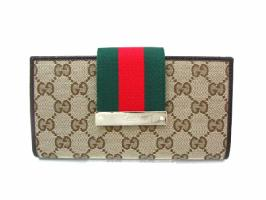GUCCI 181668 BEIGE/BROWN