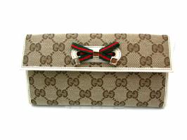 GUCCI 167464 BEIGE/WHITE
